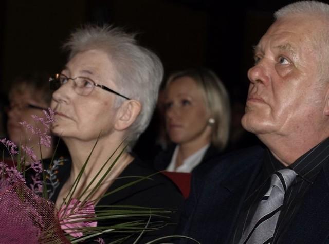 Inga Mach z mężem.