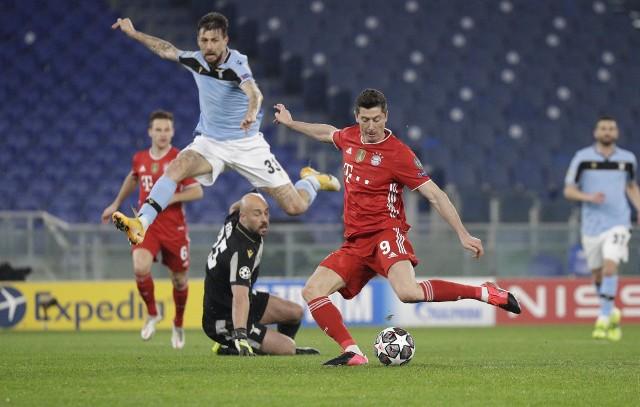 Robert Lewandowski strzelił gola Lazio i strącił z podium legendarnego Raula!