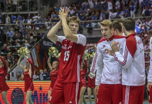 Jakub Kochanowski (od lewej) zagra w czerwcu w Atlas Arenie w meczach reprezentacji Polski