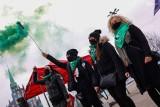 """""""Dzień Kobiet bez kompromisów"""". Demonstracja na placu Solidarności w Szczecinie - 7.03.2021"""