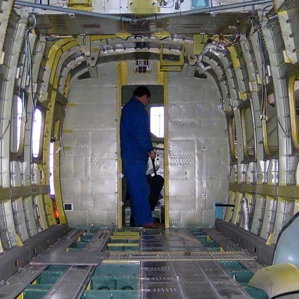 Użytkownicy Skytrucków nie muszą się martwić. Części używane do produkcji samolotów są pełnowartościowe.