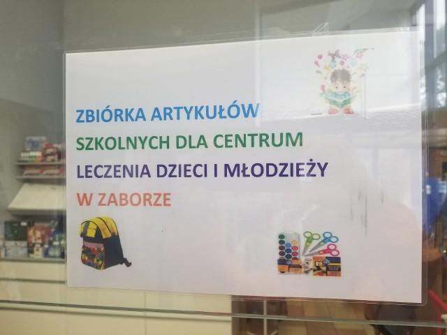 Zbiórka dla dzieci i młodzieży uczącej się w jednostce urzędu marszałkowskiego prowadzona jest przez Pocztę Polską