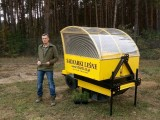 Wąbrzeski lider plebiscytu Osobowość Roku 2018 w pół roku stworzył trzecią w Polsce firmę produkującą sadzarki leśne