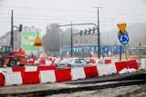 Będą uciążliwe prace na rondzie Kujawskim w Bydgoszczy. Wykonawca informuje i przeprasza za hałas i utrudnienia