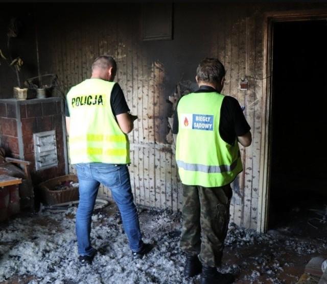Woźniki: przy ul. Lompy spłonęło mieszkanie
