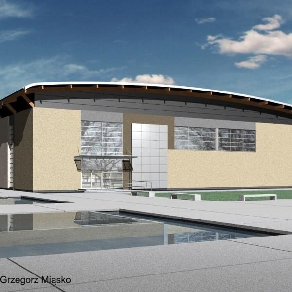 Wizualizacje hali sportowej w Gorzowie Śląskim