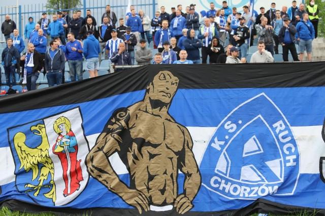 Kibice wrócili na stadion Ruchu 15 maja na derby z ROW-em Rybnik.