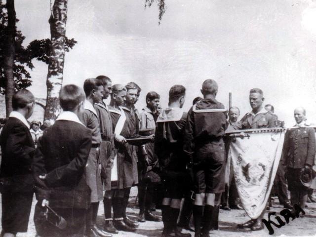 Tak w czerwcu 1932 roku w Białymstoku obchodzono Dzień Harcerza
