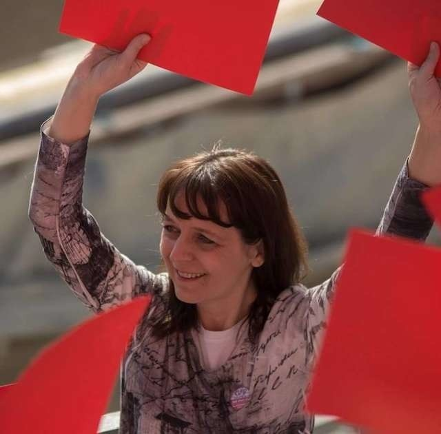 Aleksandra Solecka została wybrana szefową KOD w Kujawsko-pomorskiem