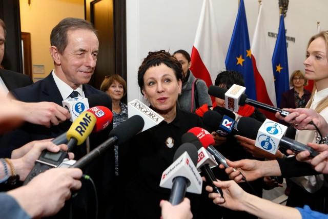 Olga Tokarczuk zwolniona z podatku od Nagrody Nobla. Jest decyzja ministra finansów