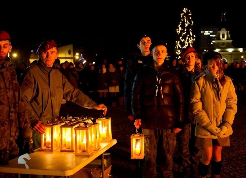 Betlejemskie Światło Pokoju w Białymstoku (zdjęcia)