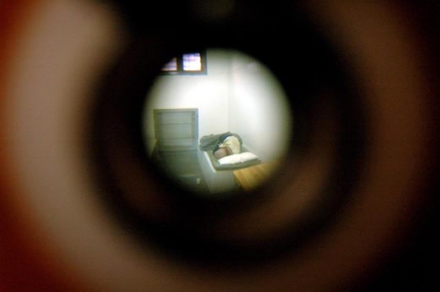 04.01.2008. sopot izba wytrzezwien w budynku komendy policji w sopocie dziennik baltycki fot. tomasz bolt / polskapresse