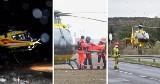 Rekordowa liczba lotniczych misji ratunkowych w całym kraju. Lotnicze Pogotowie Ratunkowe uzupełnia naziemne karetki