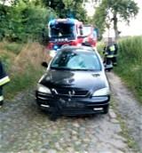 Wypadek pod Żukowem. Potrącenie 13-latka. 25.07.2020 r. Kierowca był pijany i miał zakaz prowadzenia pojazdów