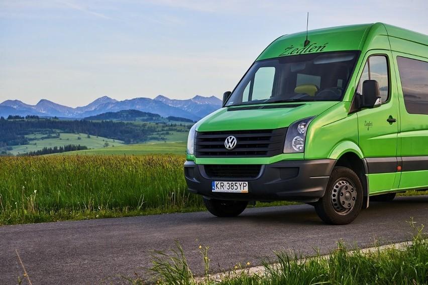 Taki bus będzie obsługiwał komunikację gminną w Kościelisku, Witowie i Dzianiszu.