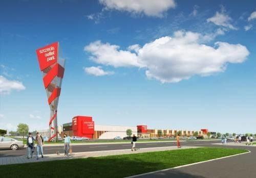 Tak bedzie wygladać pierwsze centrum outletowe Echa Investment zbudowane w Szczecinie.