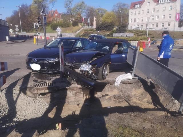 Kierowca passata został uznany winnym kolizji na placu Poznańskim.