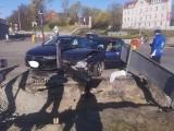 Wypadek na placu Poznańskim w Bydgoszczy [zdjęcia]