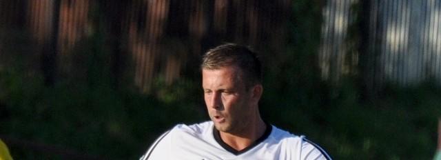 Łukasz Nowak strzelił trzy gole w meczu z Michałowianką