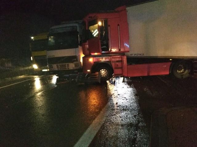 Wypadek na DK 1 w Winownie