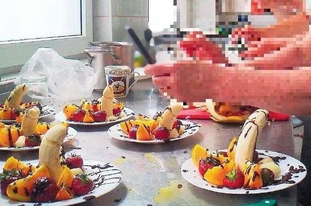 Dyrektorka MOPR-u zapewnia, że to nie ona była pomysłodawcą menu, w którym znajdowały się między innymi penisy z bananów.