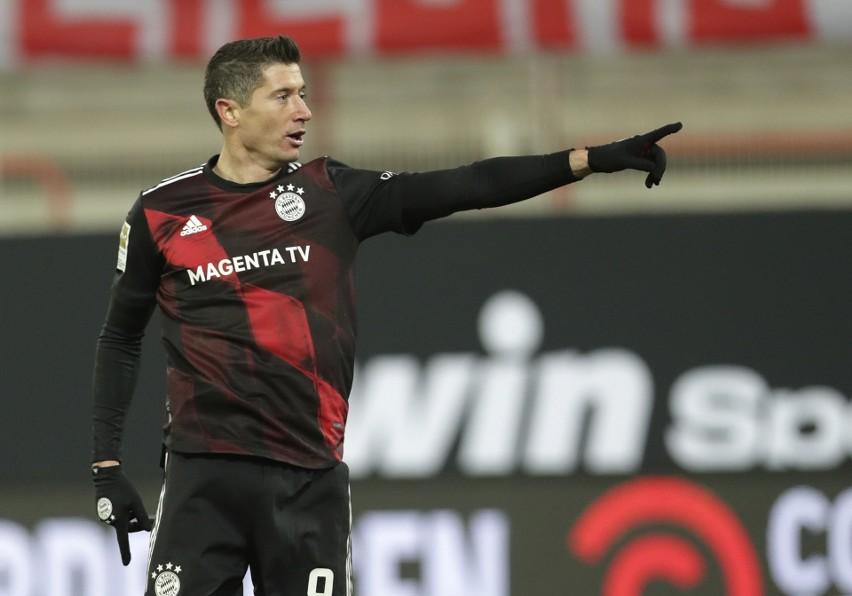 Liga niemiecka. Dołożył nogę. Robert Lewandowski uratował Bayern Monachium przed porażką z Unionem Berlin [WIDEO]