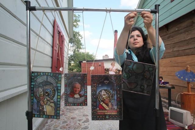 Artyści prezentują swoje prace także w Mieście Tkaczy
