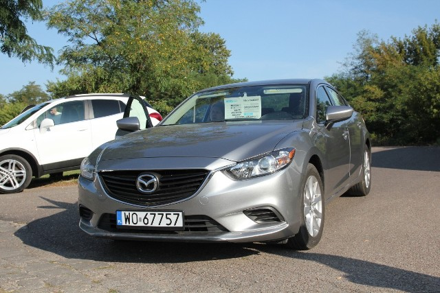 Mazda 6, rok 2015, 2,5 benzyna, cena 48 000 zł