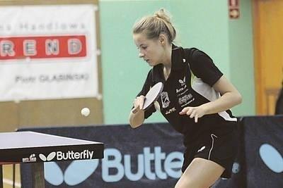 Małgorzata Kalawa zaimponowała opanowaniem w III secie meczu z Wojciechowską Fot. Maciej Zubek