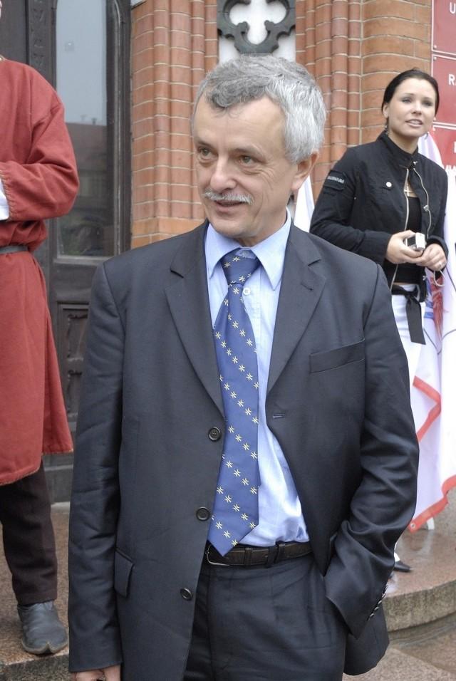 Wiceprezydent Kwiatkowski.