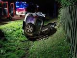 Wypadek na DK 60 w Perzanowie