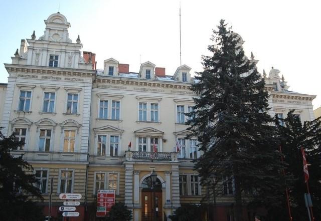 Siedziba starostwa powiatowego w Kluczborku