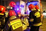 Pożar na Bajce w Fordonie. Paliło się mieszkanie w wieżowcu na ul. Gawędy. Jedna osoba została poszkodowana