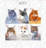 Kocie znaczki na Dzień Kota