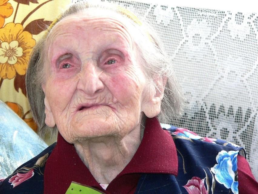 Waleria Fidelus z Kazimierzy Wielkiej przeżyła 108 lat.