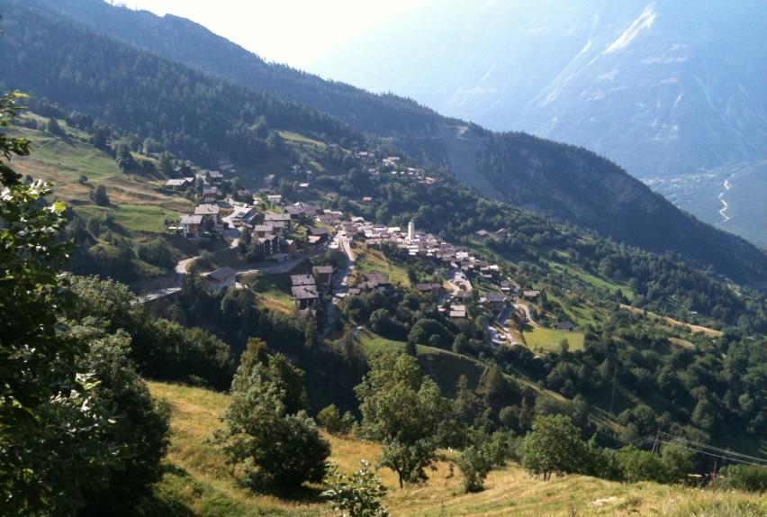 Albinen, Szwajcaria...