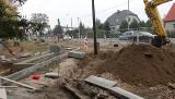 Poznań: Przy zbiegu ul. Naramowickiej i Boranta powstaje nowy skwer i chodnik