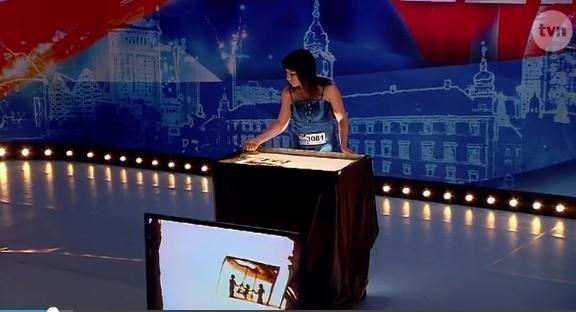Tetiana Galitsyna w polskim Mam Talent