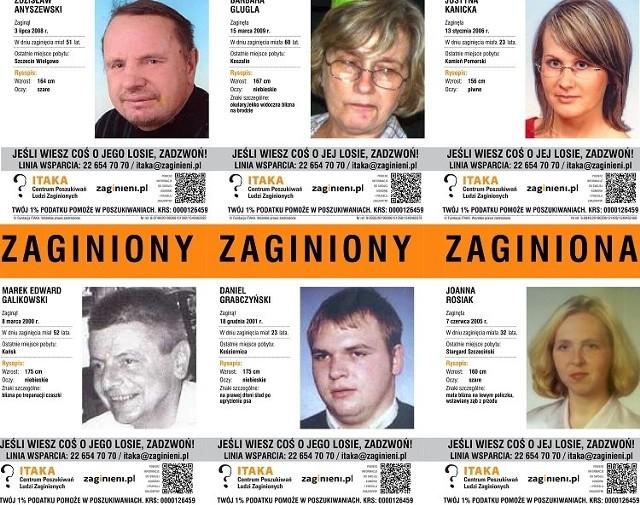Prezentujemy zdjęcia oraz opisy zaginionych osób w naszym województwie. Może macie o kimś informacje?Zobacz także: Koszalin: Policjanci rozdają odblaski mieszkańcom Koszalina