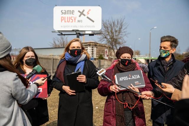 """Konferencja prasowa - kampania """"Same Plusy"""" w Białymstoku"""