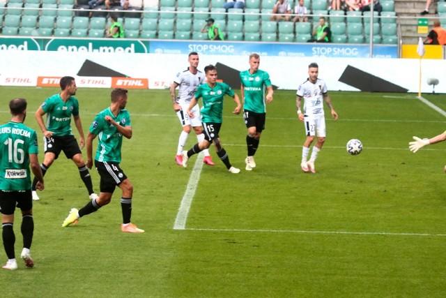 Legia Warszawa - Pogoń Szczecin 1:2.