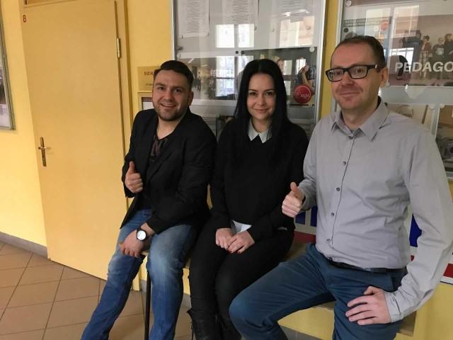 Na zajęcia zapraszają pracownicy Wyższej Szkoły Zarządzania i Administracji: Marcin Oleksiuk, Katarzyna Michura i Dariusz Stanuchowski.