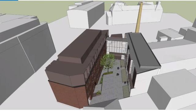 """Stara poznańska papiernia """"Trefl"""" stanie się centrum badawczym Uniwersytetu Artystycznego."""