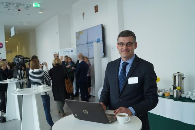 Dzięki temu projektowi chciałbym bliżej poznać zasady, na jakich nawet konkurujące ze sobą firmy  mogą współpracować w ramach klastra – mówi Audrius Dailidonis, właściciel litewskiej firmy JSC Tankos