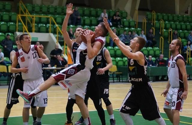 Migawka z meczu Domino Inowrocław - Trefl II Sopot