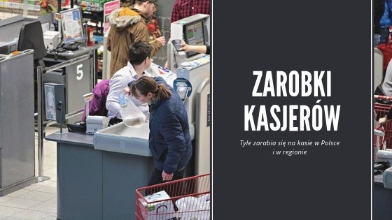 Zastanawialiście się kiedyś, ile zarabiają kasjerzy i kasjerki w Polsce? Zobaczcie dane zebrane przygotowany w oparciu o Ogólnopolskie Badanie Wynagrodzeń przeprowadzone przez Sedlak & Sedlak.Jak zarobki na kasie wyglądają w poszczególnych regionach? Gdzie kasjer zarabia najwięcej? Sprawdź!Stawki brutto poznasz w dalszej części galerii >>>Zobacz też: Najlepsze teksty zasłyszane w sklepach. Znasz je wszystkie?Agro Pomorska odcinek 58