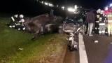 16 grudnia 2019 na pomorskich drogach: Seria wypadków przez śliską jezdnię