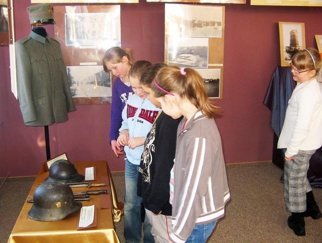 Wystawa zainteresowała także najmłodszych