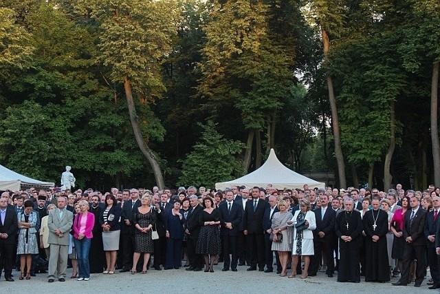 23 czerwca 2012 roku. Okolicznościowe przyjęcie prezydenckie w Ogrodzie Branickich