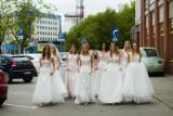 Białystok. Finalistki Miss Podlasia 2019 mierzyły suknie ślubne [ZDJĘCIA]